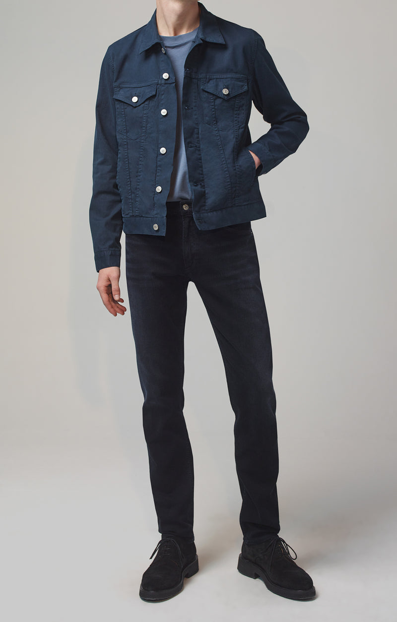 bowery standard slim fit ink front
