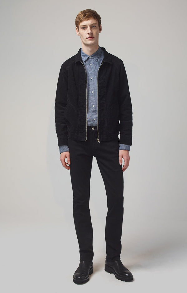 bowery standard slim fit parker front