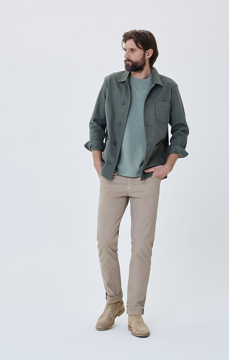 bowery standard slim fit sand front