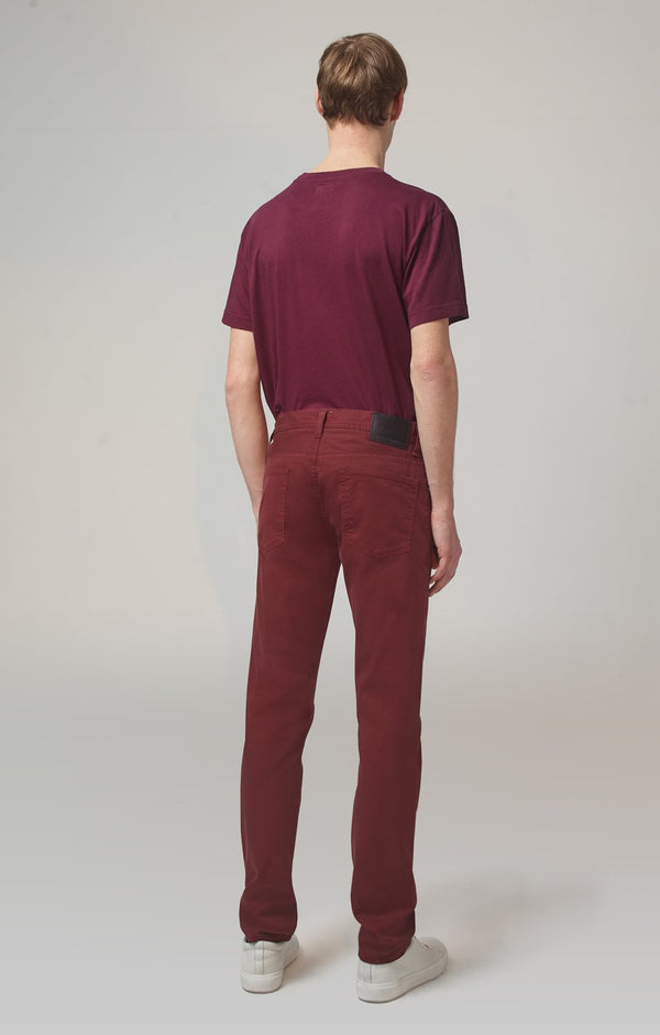 bowery standard slim fit redwood back
