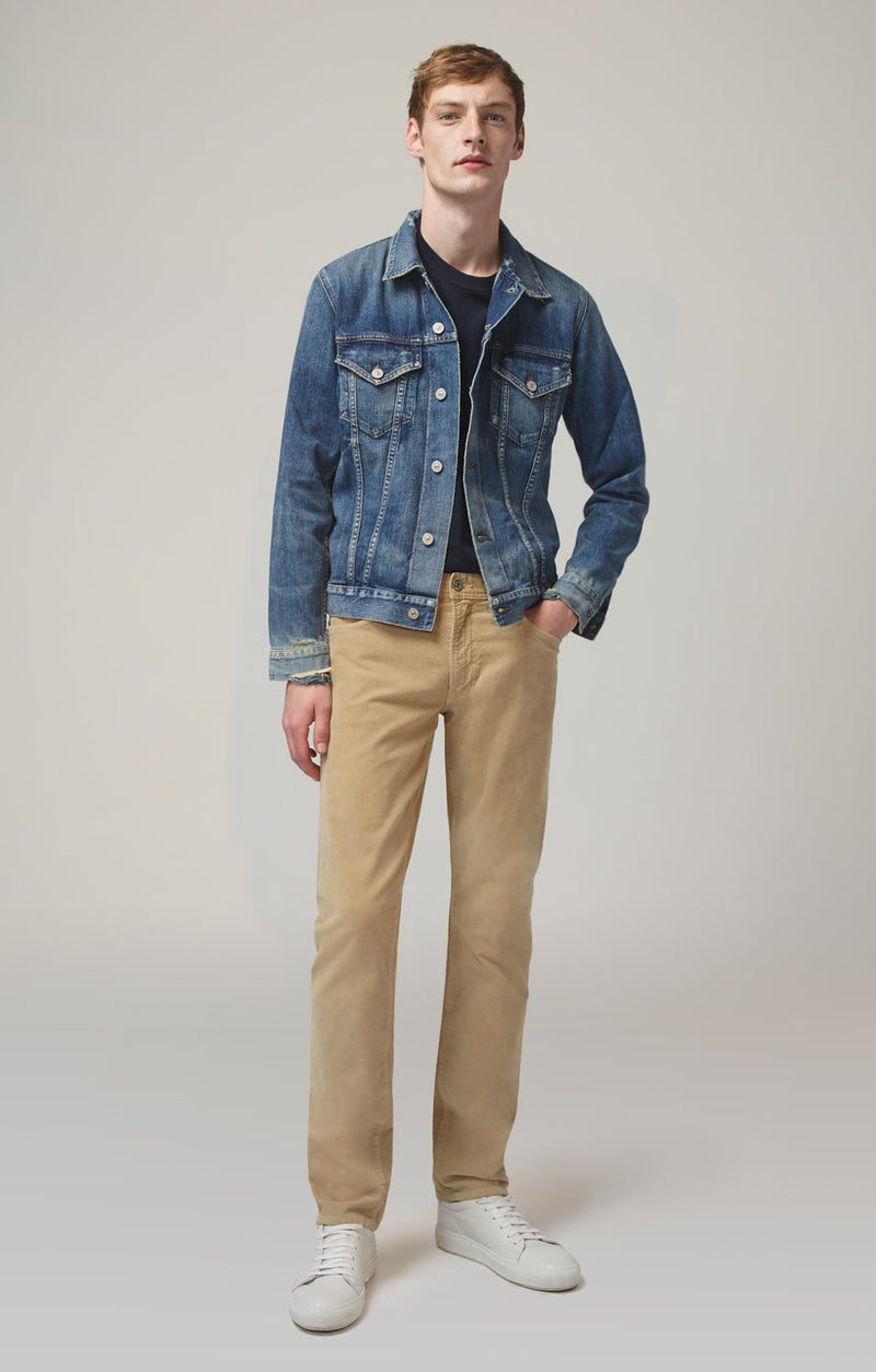 bowery standard slim fit buff front