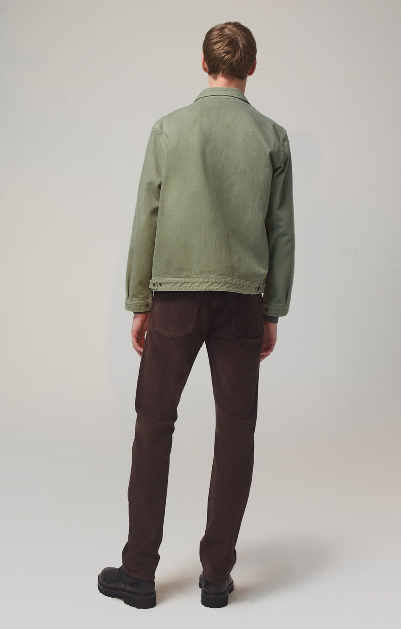bowery standard slim fit mocha back