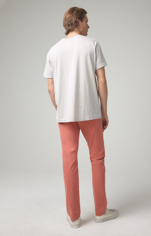 bowery standard slim fit coral back