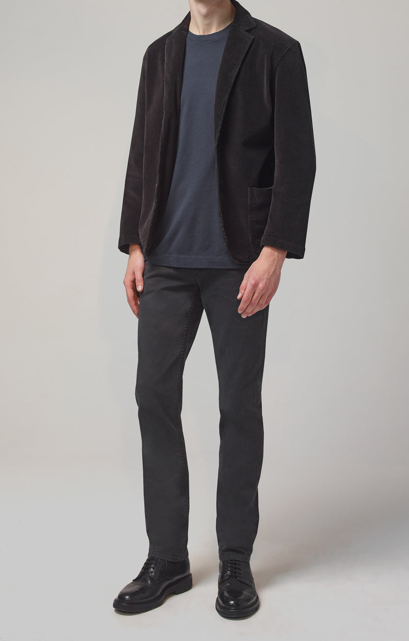 bowery standard slim fit sulphur luxury front
