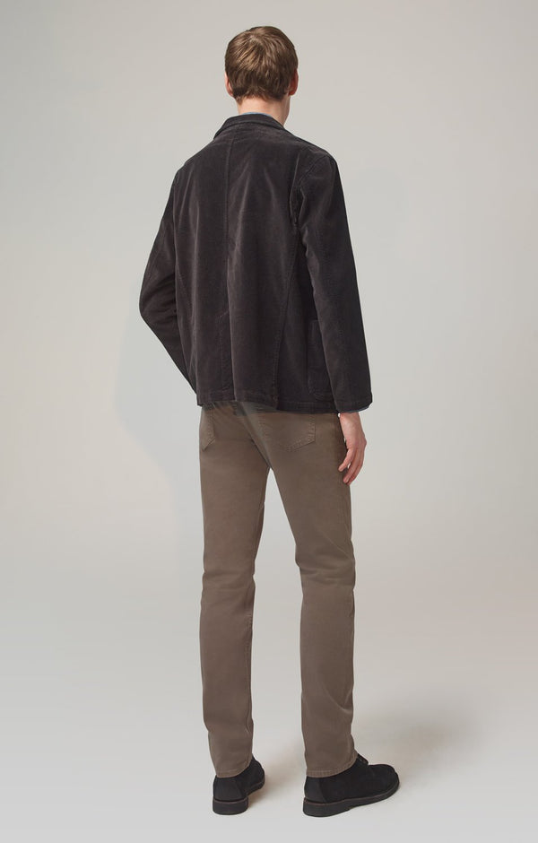 bowery standard slim fit lead luxury back