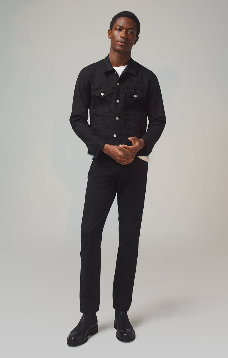 bowery standard slim fit blackout front
