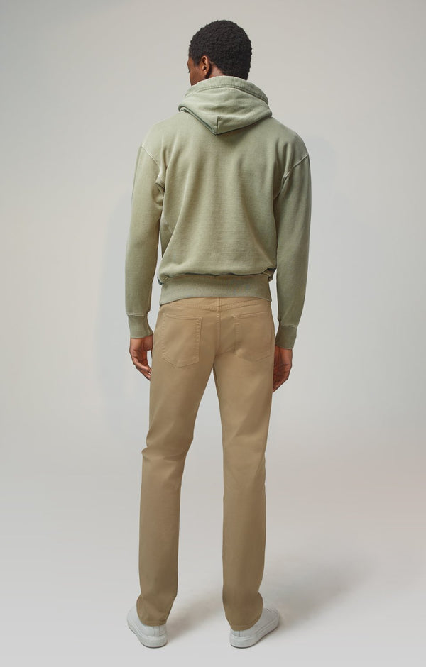 gage classic straight fit vintage khaki back