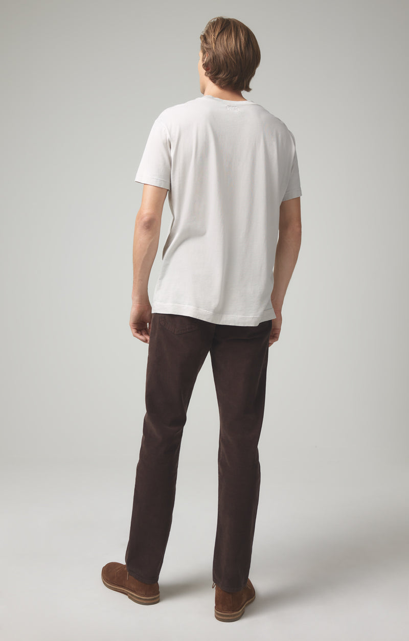 gage classic straight fit mocha back