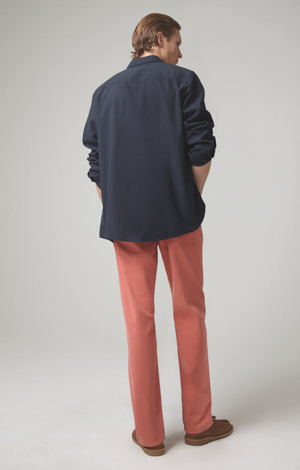 gage classic straight fit coral back