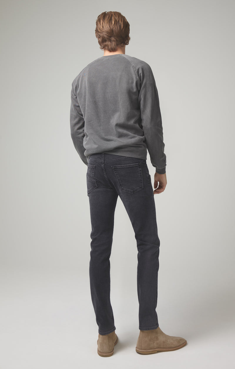 noah skinny fit black beach back