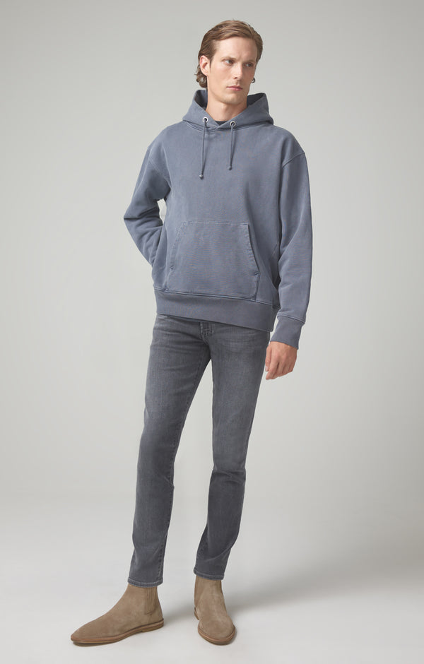 bowery standard slim fit carbon front