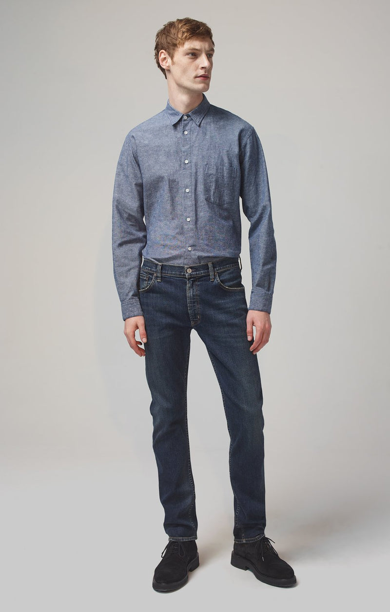 bowery standard slim fit memphis front