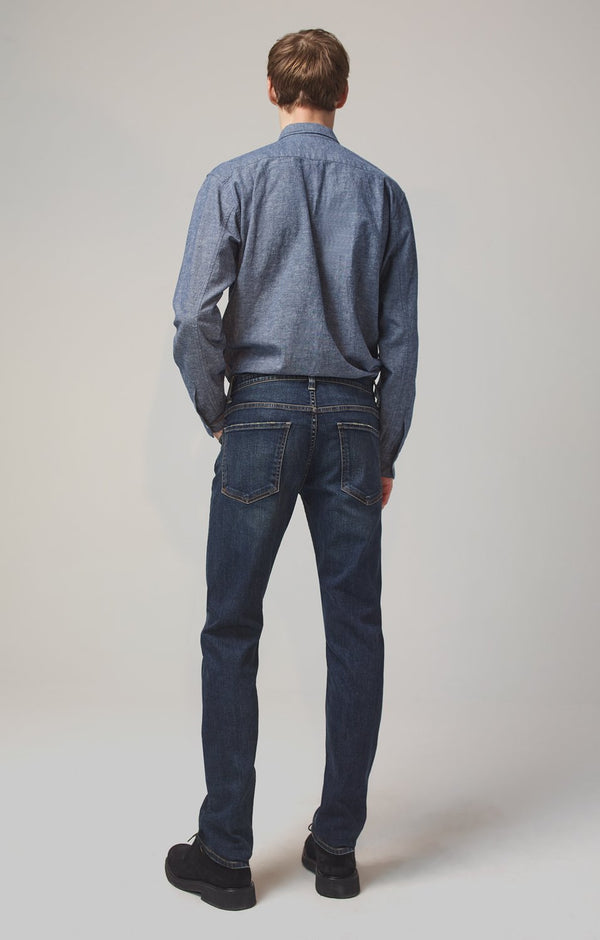bowery standard slim fit memphis back