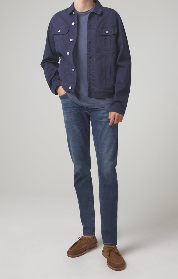 london slim fit riverside blue front