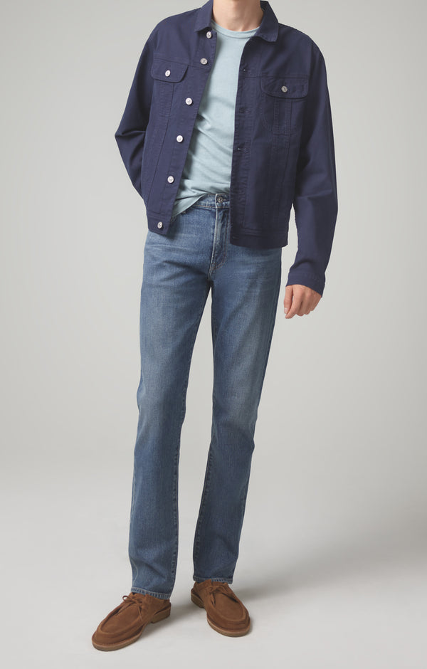 gage classic straight fit in blue daze front