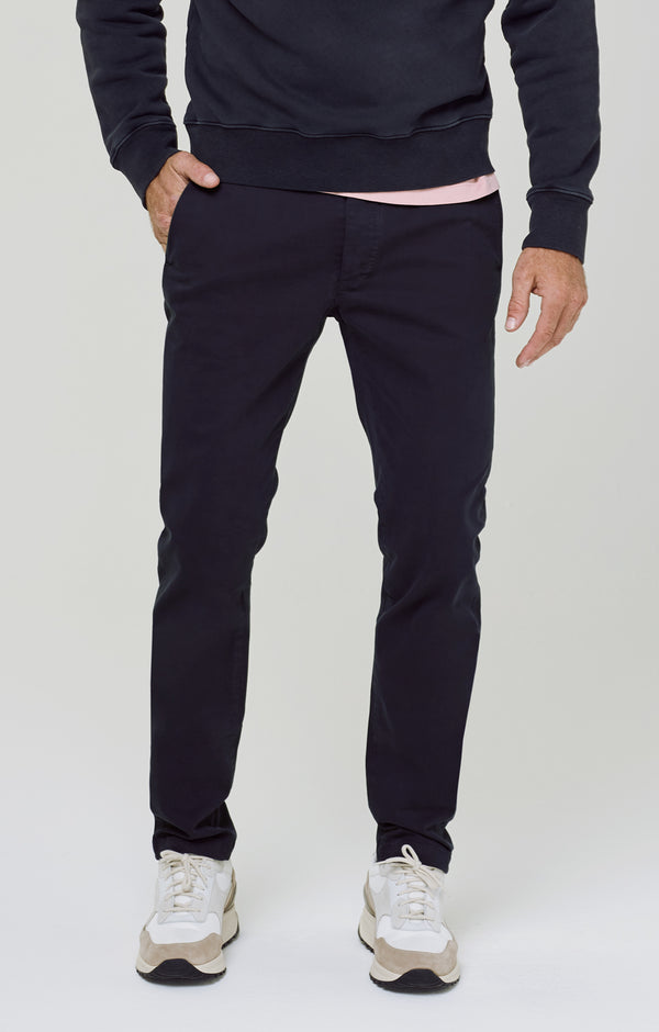London Chino Emperial Indigo front