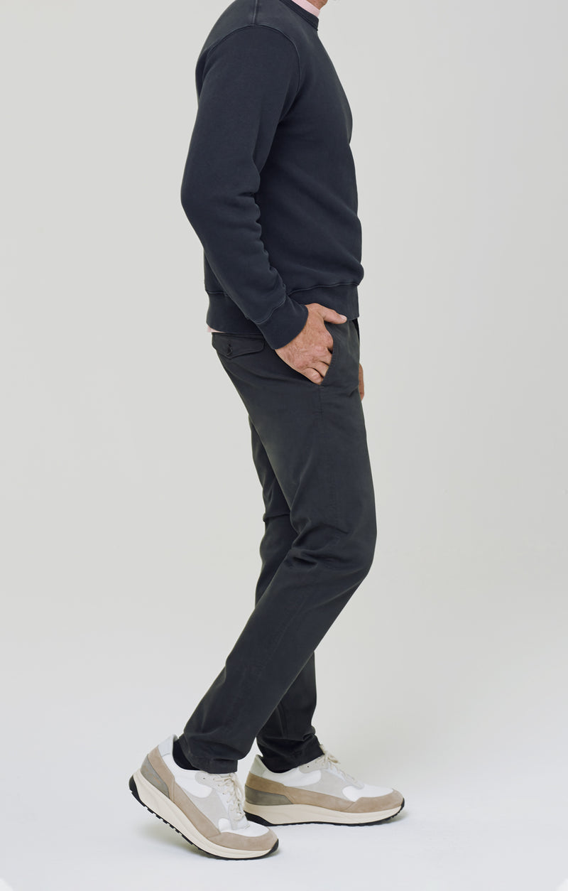 London Chino Washed Black side
