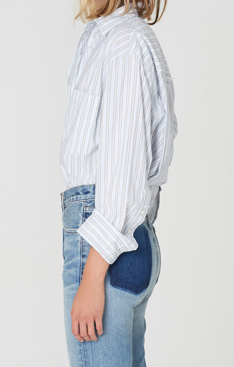 kayla shirt liberty stripe side