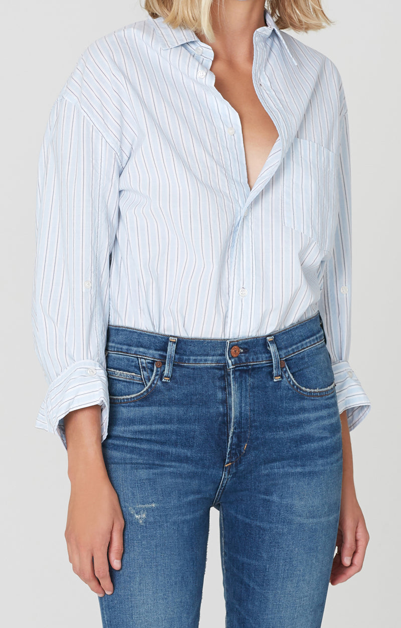 Kayla Shirt Lucille Stripe front