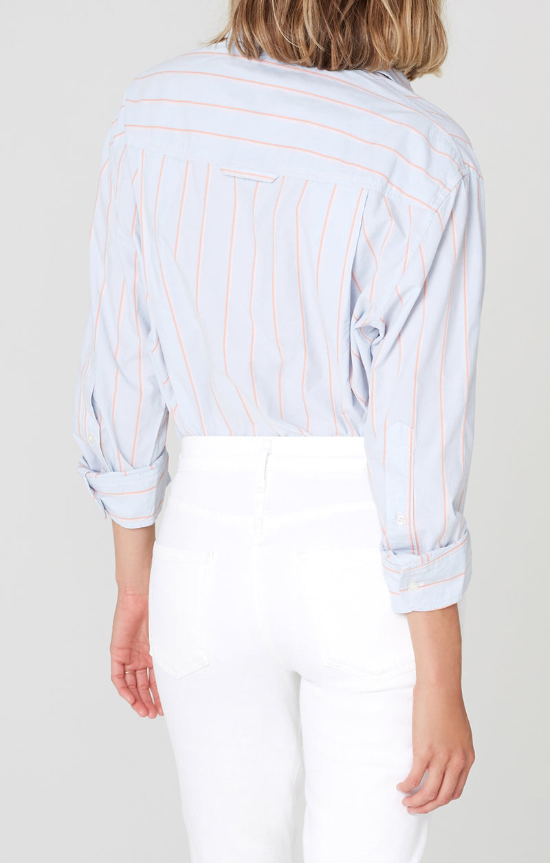kayla shirt rosemont stripe back