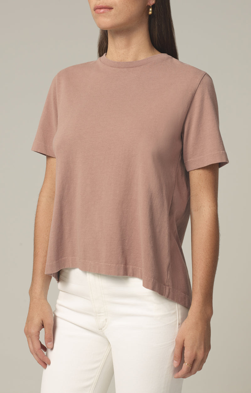 lenu back pleat shirt toast front