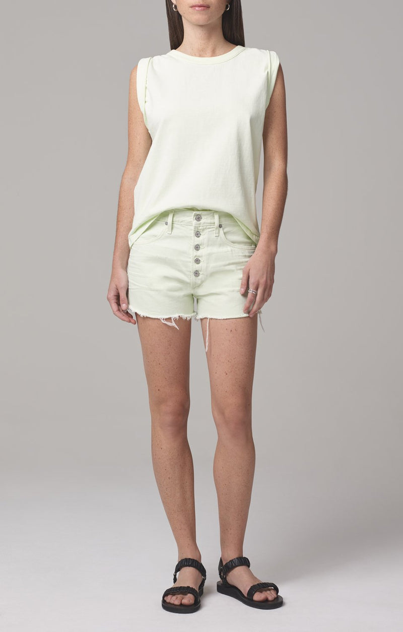 jordana rolled sleeve tee lemongrass full body