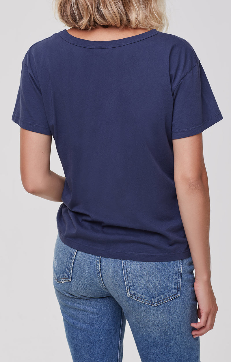 betty t-shirt dapple blue back