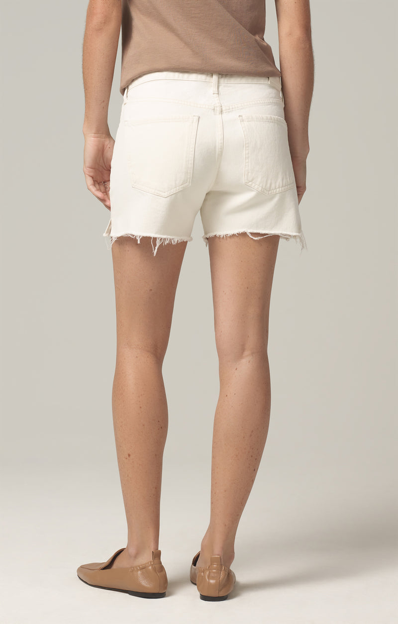 marlow easy short white clay back