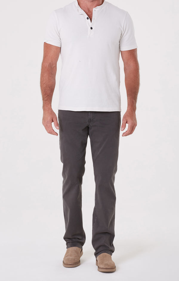Gage Classic Straight Fit Twill Faded Black front