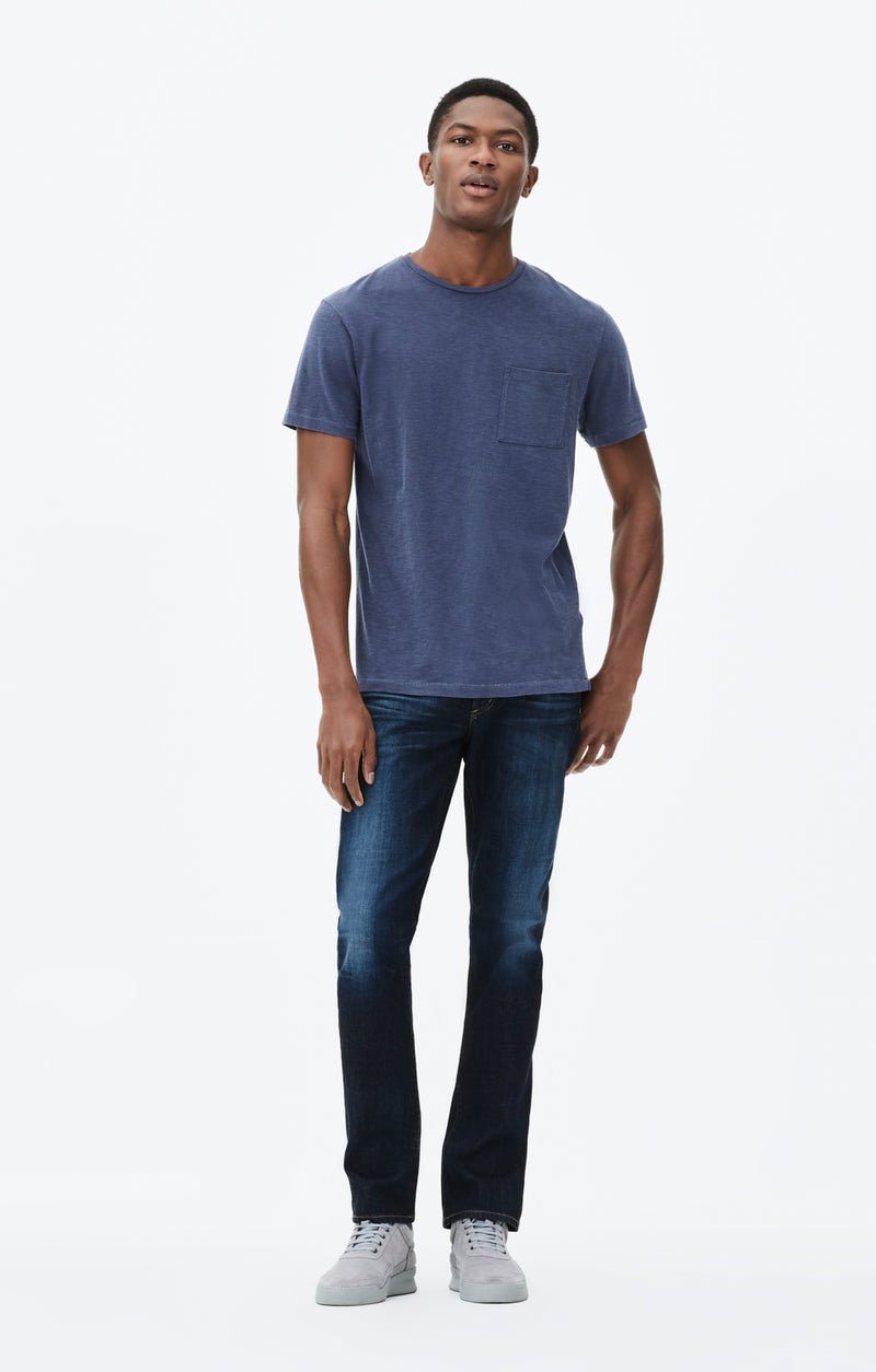 gage classic straight fit denim huron front