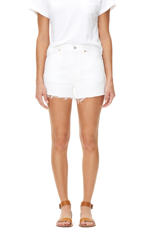 Kristen High Rise Short in Fresco