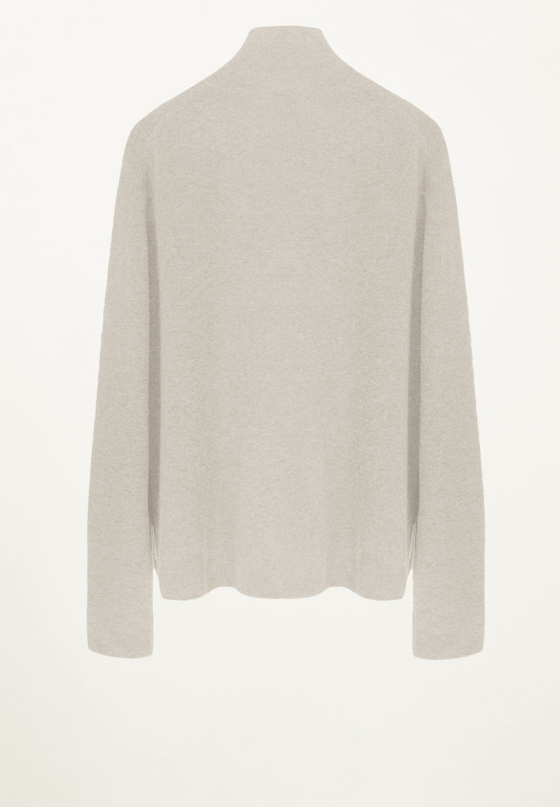 Sydney Knit Blouse in Creme