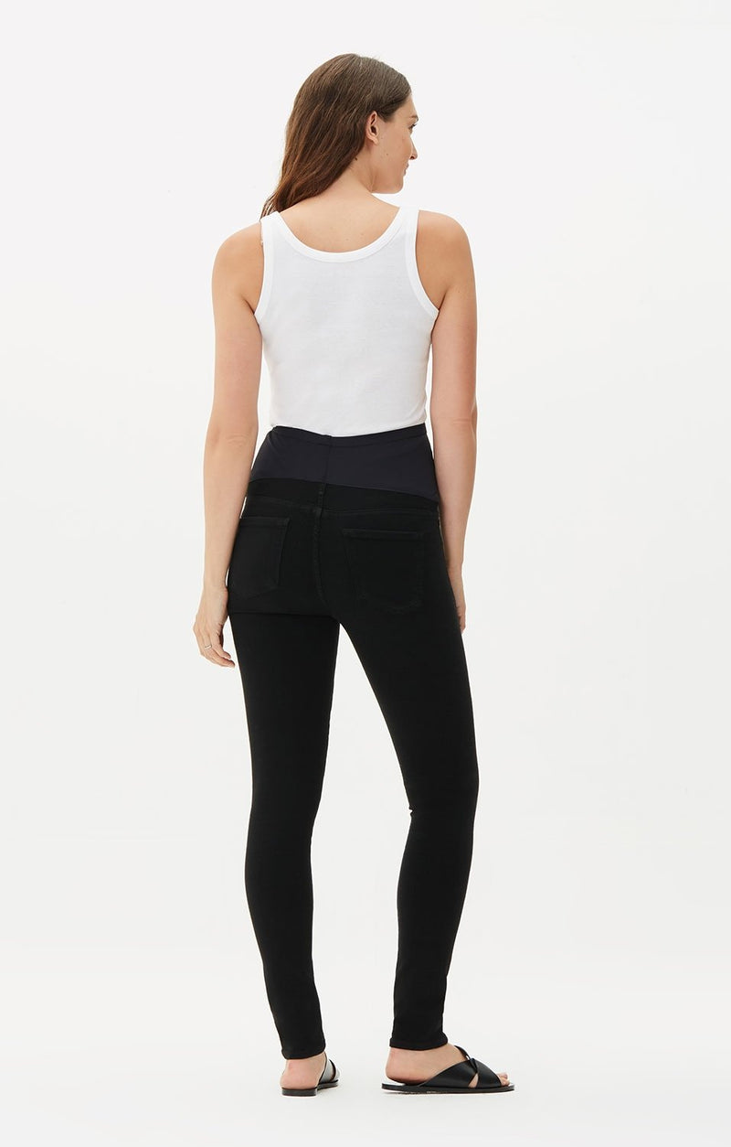 maternity avedon ultra skinny fit all black detail