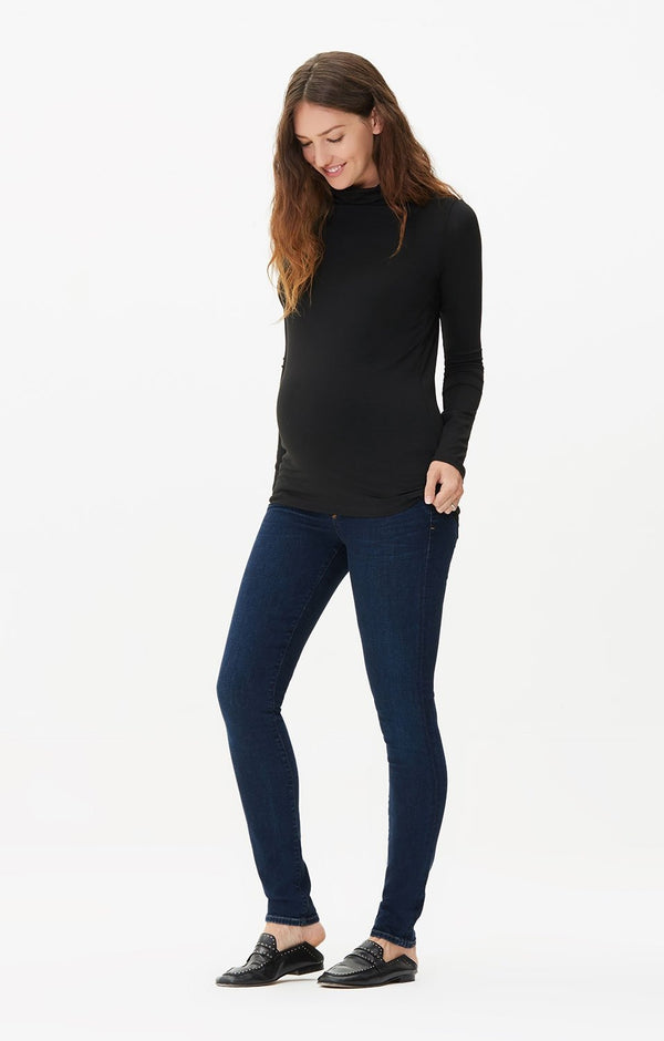 maternity avedon ultra skinny fit galaxy front