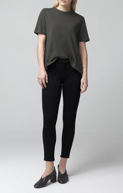 avedon ankle ultra skinny fit all black front