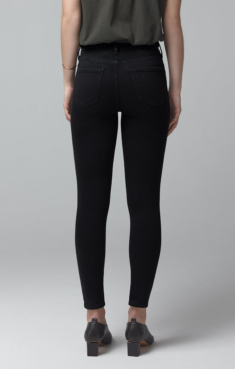 avedon ankle ultra skinny fit all black side