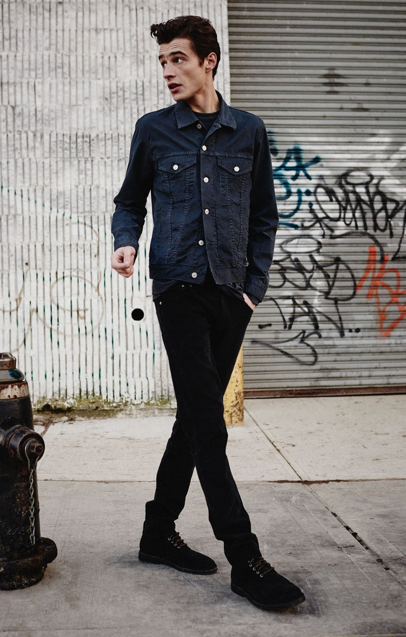 bowery standard slim fit blackout side
