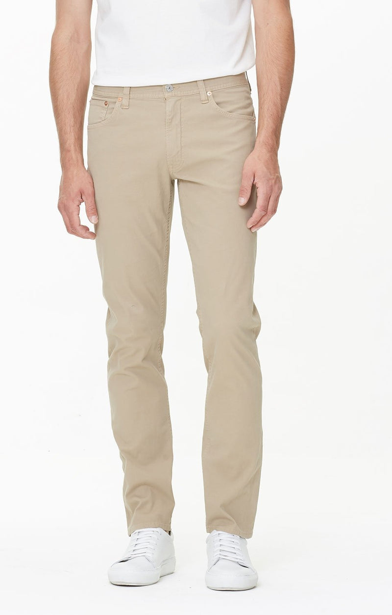 bowery standard slim fit sand side