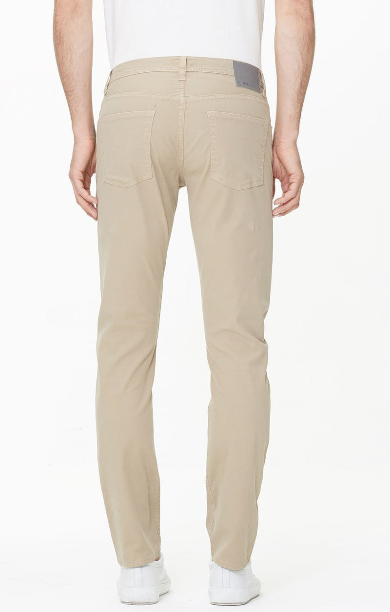 bowery standard slim fit sand detail