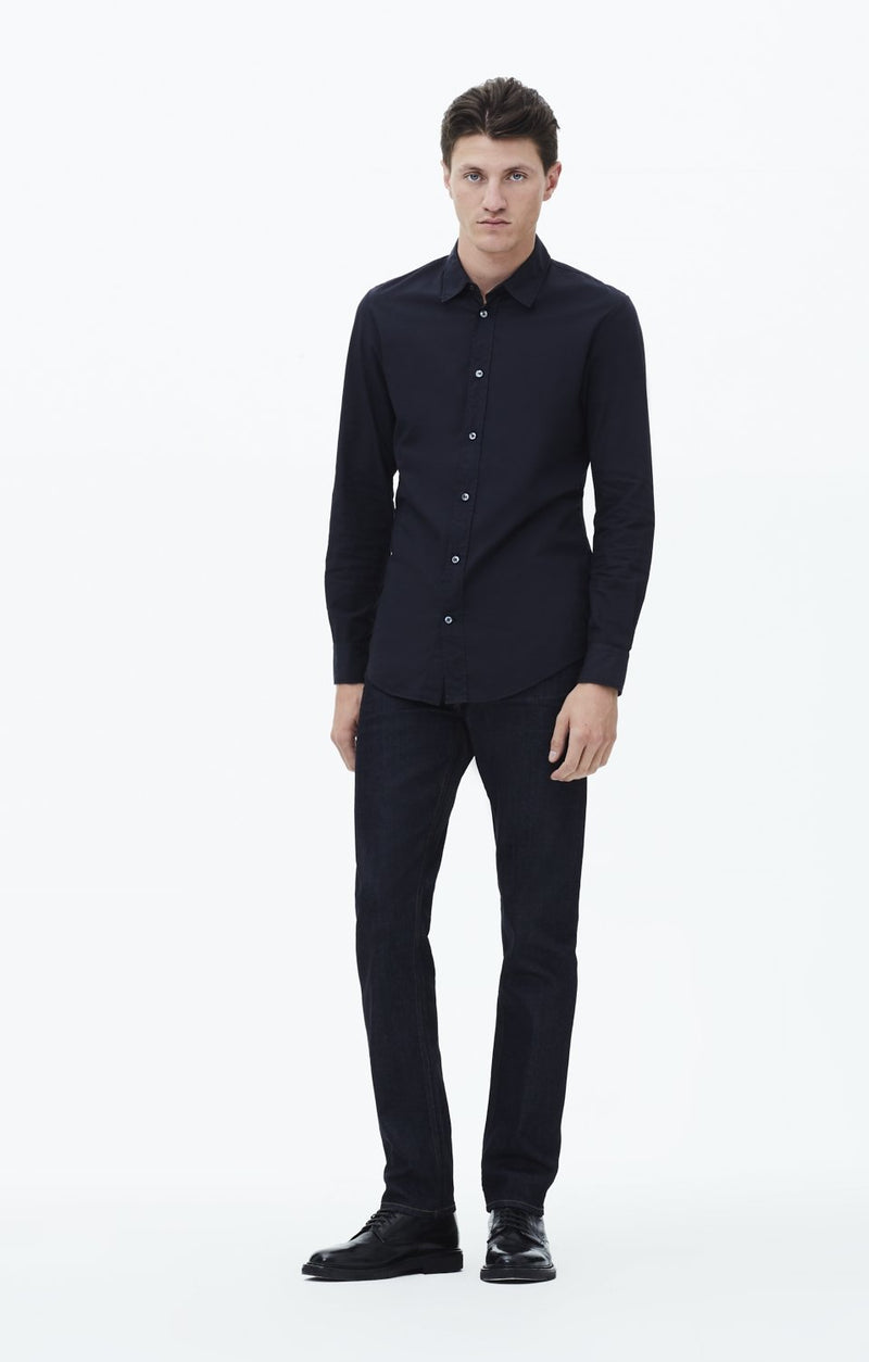 bowery standard slim fit lafayette front