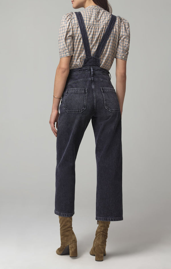 cher zip front dungaree holy smokes back
