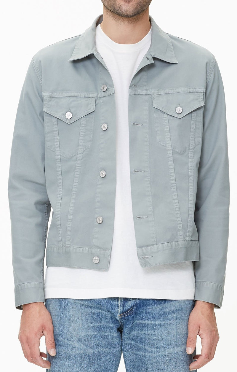 classic jacket sea foam side