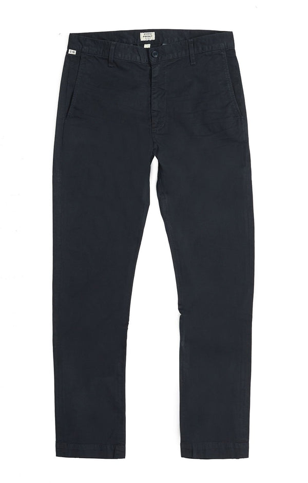 davis skinny fit chino navy flat