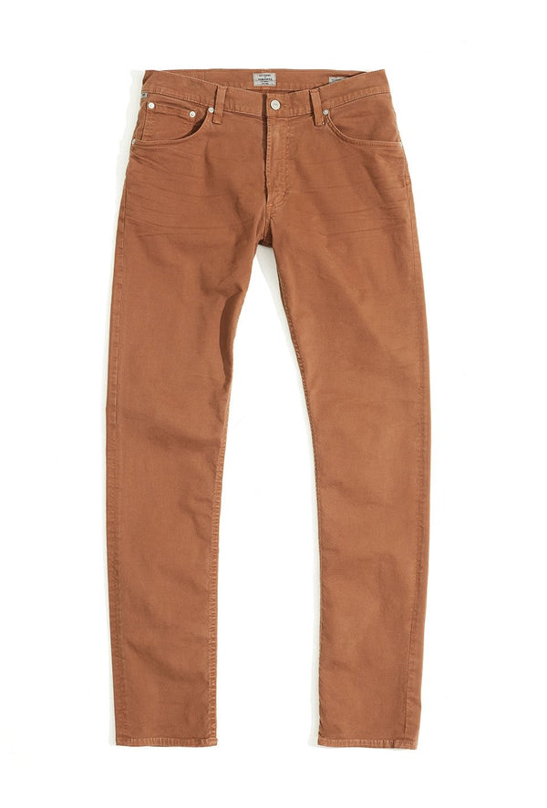 bowery standard slim fit earth back