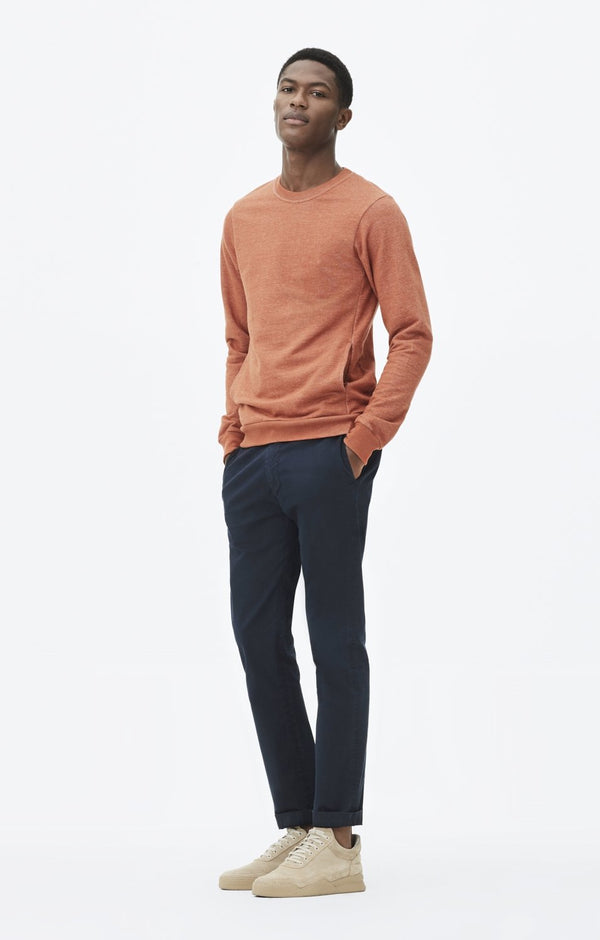 davis skinny fit chino navy front