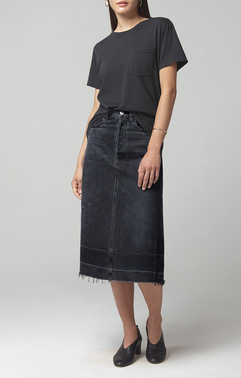 florence skirt too late front