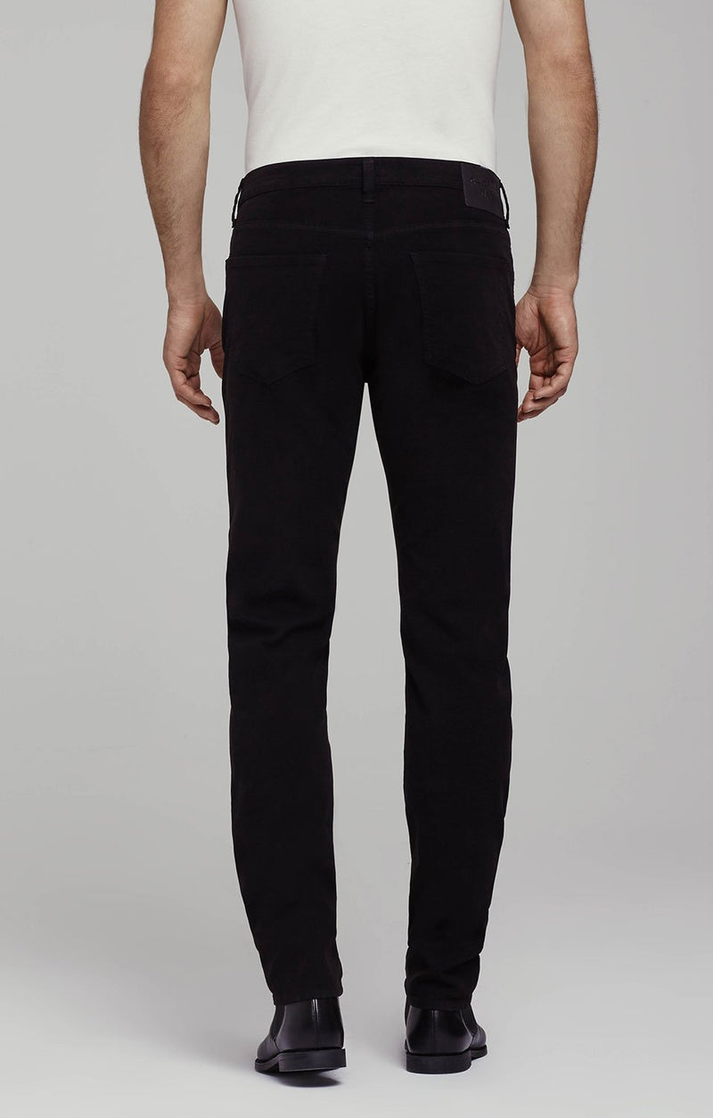 core slim straight fit black side