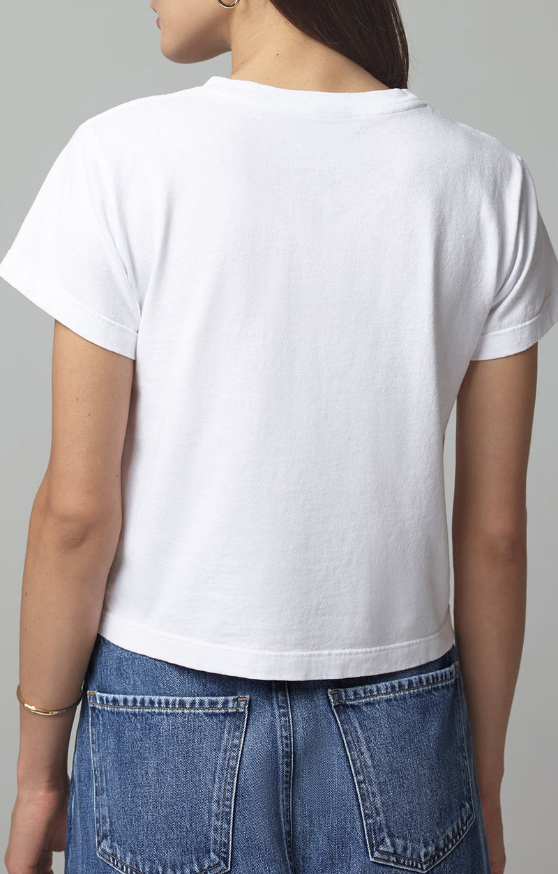 grace pocket tee shirt white back