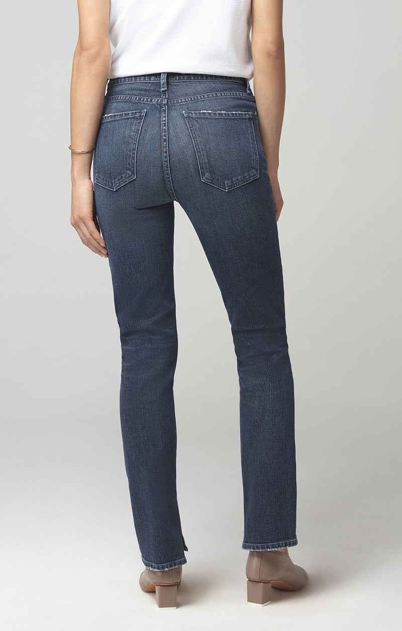 olivia long high rise slim fit night shift side