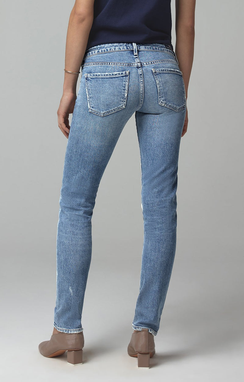 racer low rise skinny fit distressed encore side